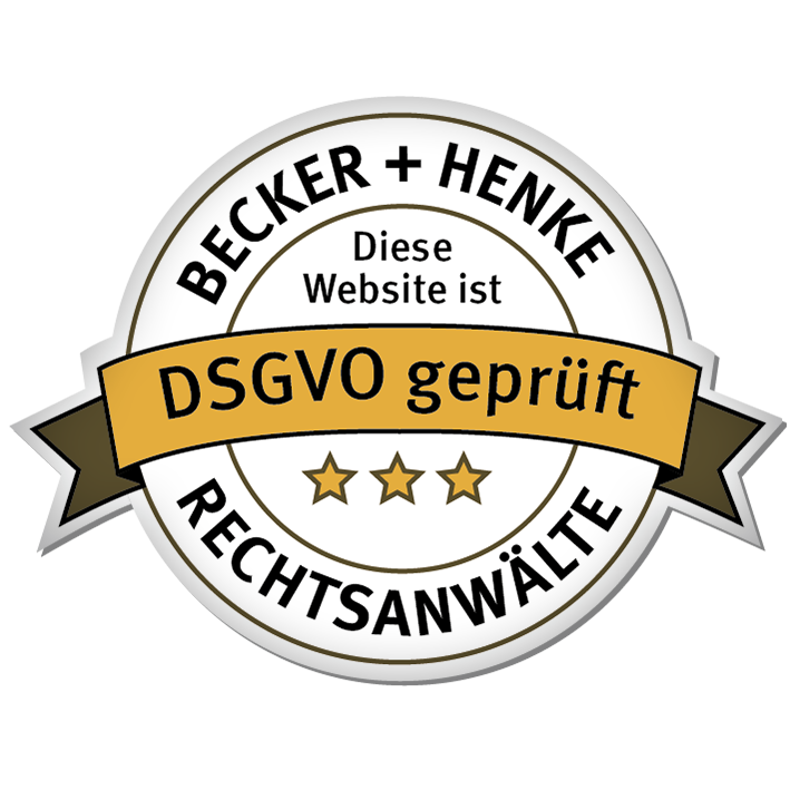 Becker + Henke Rechtsanwälte - DSVGO geprüft